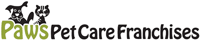 Paws Pet Care Franchise Logo
